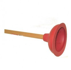 Best type of plunger to use as head gear!