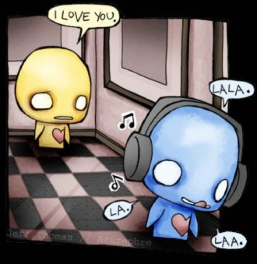 I love you! (Jeff Thomas art)