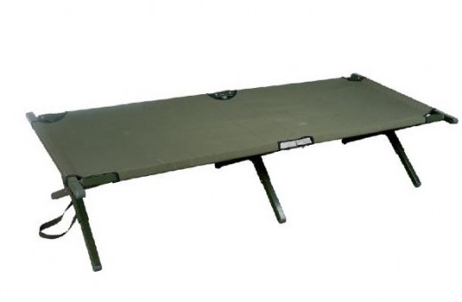 Aluminum Frame Camp Bed
