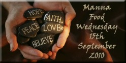 Manna food for Wednesday September 15th