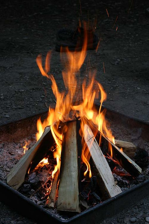 """Attribution: """"Now Thats a Fire"""" from BRAYDAWG flickr.com"""