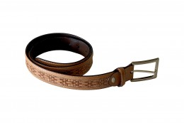 Men's belts are a staple in men's wardrobe.