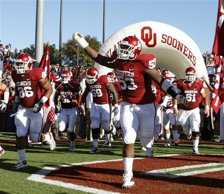 Oklahoma laid down the hammer to Florida State 47-17 in week 2.