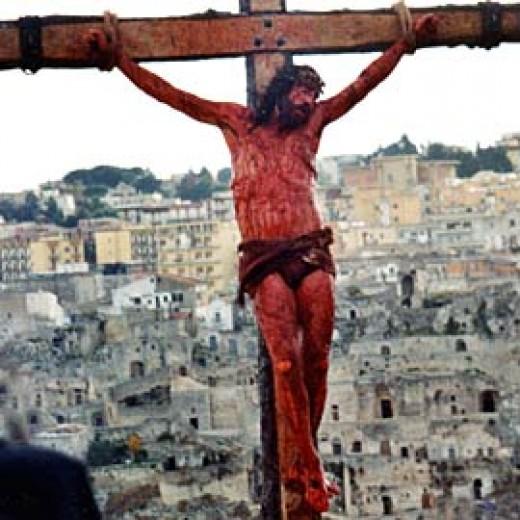 Christ on the Cross of Calvery