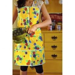Oilcloth Apron: The Apron for the Modern Women