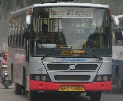 Local Suvarna bus