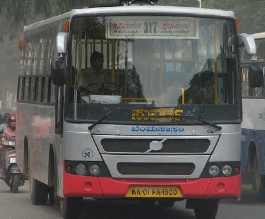 Local Suvarna bus