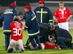 Death on the football pitch