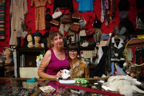 Connie Lauth and Crissy Burgstaler, owners of How Sweet It Was