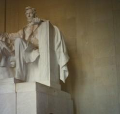 Lincoln Memorial, Washington, DC.