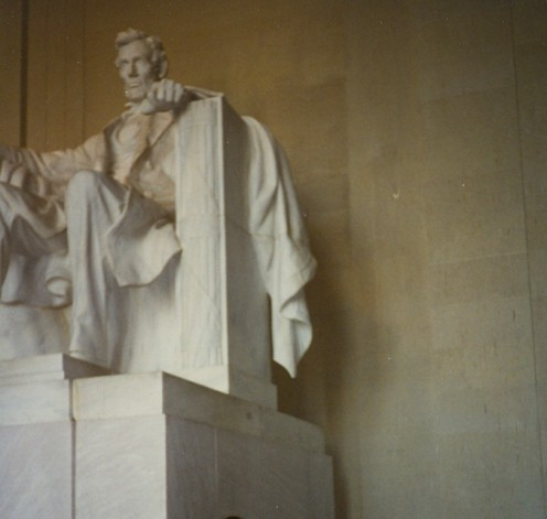 Lincoln Memorial, Washington, DC.