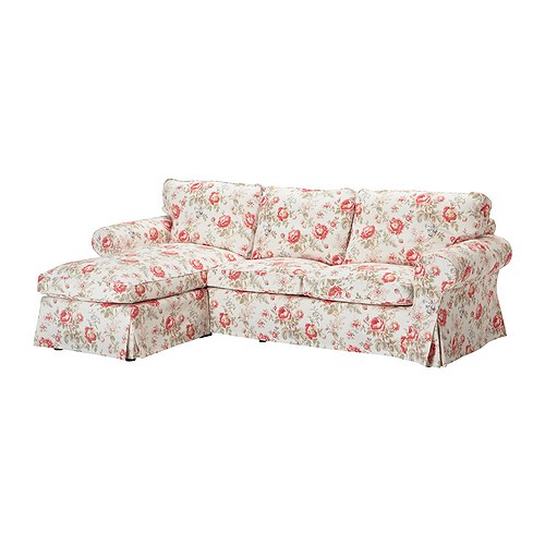 loveseat and chaise lounger