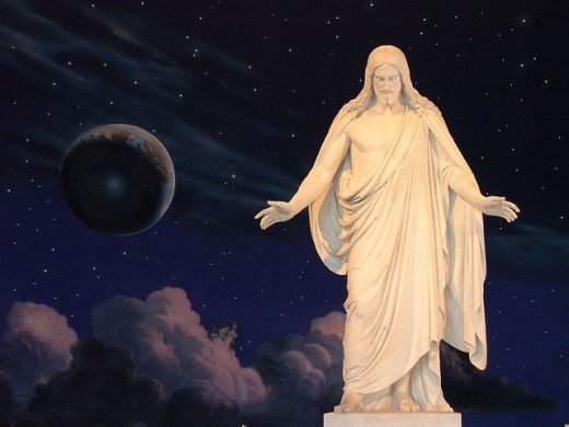 Salt Lake Temple Square Visitors Center Christus