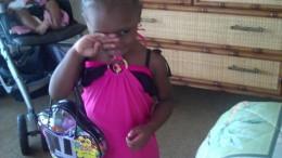 My little great niece.