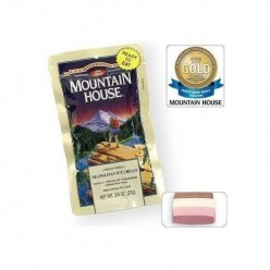 Mountain House Freeze-Dried Neapolitan Ice Cream (12-Pack)