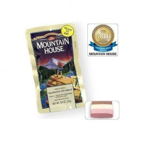Mountain House Freeze-Dried Neapolitan Ice Cream (12-Pack)