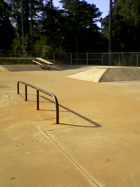 Ronald Reagan Park:  Skate Area Detail