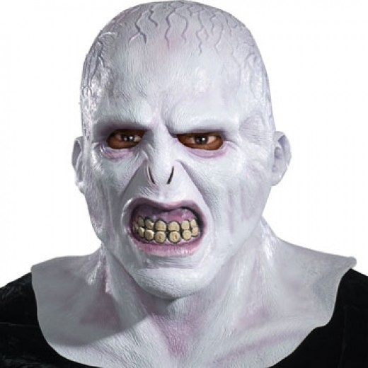 Lord Voldemort Costumes - Voldemort Mask Official