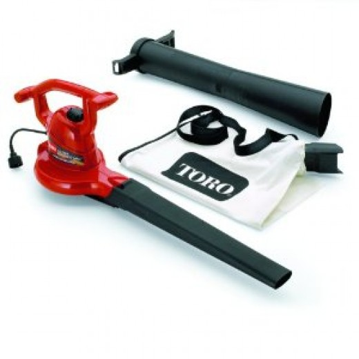 Toro 51599 Ultra Electric Leaf Blower/Vacuum w/ Metal Impeller
