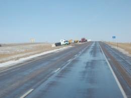 5 trucks - Ice, not pretty