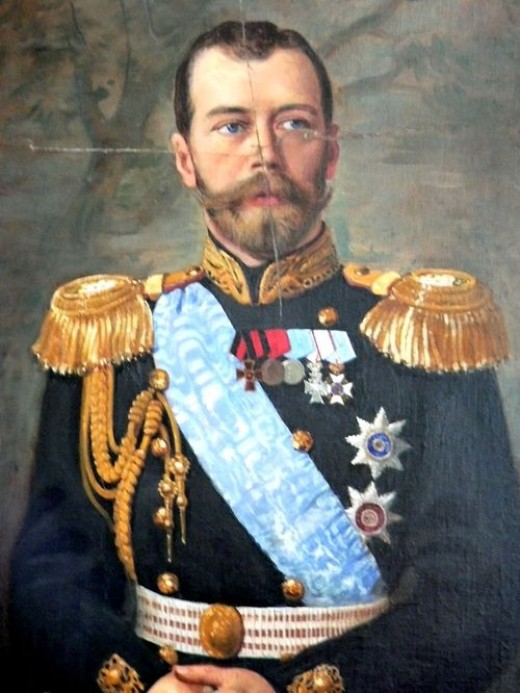 C is for Czar -- Czar Nicholas was the last of the Czars--long live the proletariat