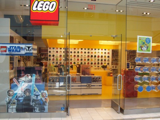 LEGO Store in San Mateo