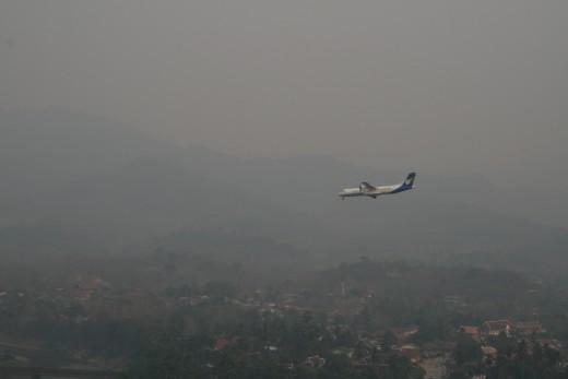 Landing at Luang Prabang
