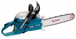 Makita DCS6401-20 Commercial Grade 20-Inch 64cc 2-Stroke Gas Powered Chain Saw. My favorite chainsaw. this will fell an average tree in a few minutes.