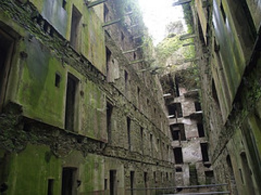 Haunted Places in Cornwall: Bodmin Jail