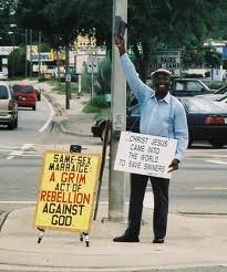 Street Preachers...