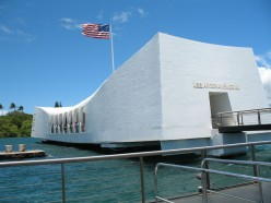 USS Arizona Memorial, Pearl Harbor, Hawaii.