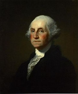The First American President George Washington.