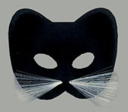 Cat mask. Available from AnniesCostumes.com