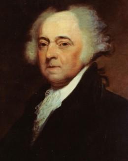 American President John Adams