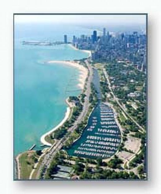Diversey Harbor, Chicago, Illinois