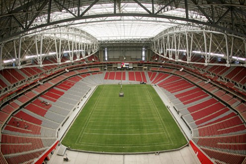 This football season, the Arizona Cardinals home stadium will be powered by 100 percent renewable energy.
