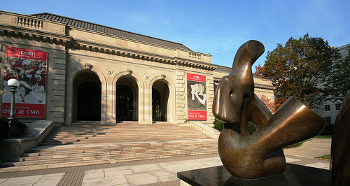 Columbus Museum of Art at 480 East Broad Street in Columbus OH. National Register Of Historic Places.