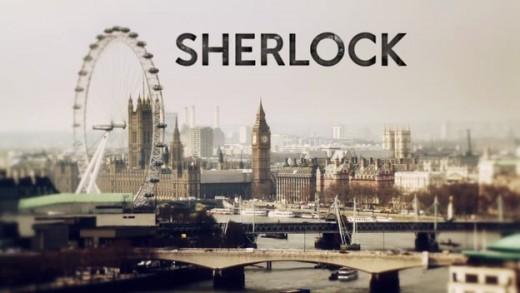 Sherlock title credit.