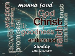 Manna food for Sunday September 19th