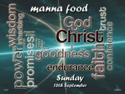 Manna food for Sunday September 19th