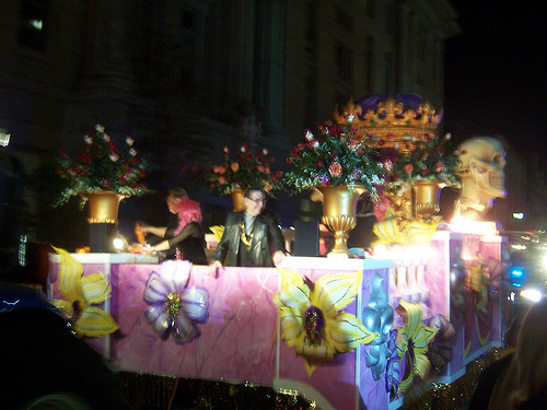New Orleans Halloween parade credit: richmanwisco @flickr