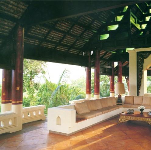 Concrete interior furniture