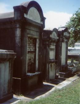 Holga taken in Lafayette Cemetery, New Orleans