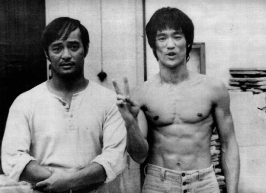 Dan with Bruce Lee