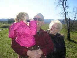 Loves the binoculars.