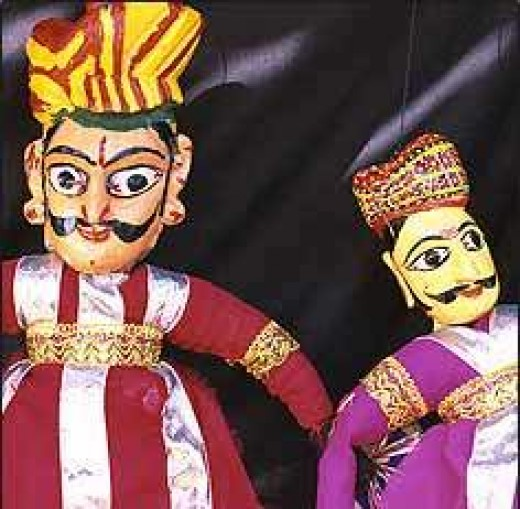 Rajasthani Doll Art in Delhi Museum