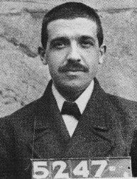 Charles Ponzi, the man who gave his name to Ponzi schemes.