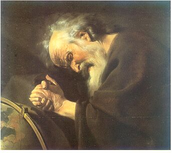 Heraclitus by Johannes Moreelse