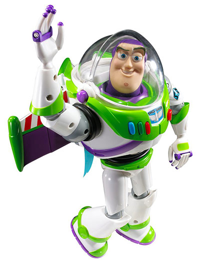 Buzz Lightyear Jetpack Toy