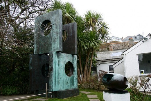 FOUR SQUARE by Barbara Hepworth